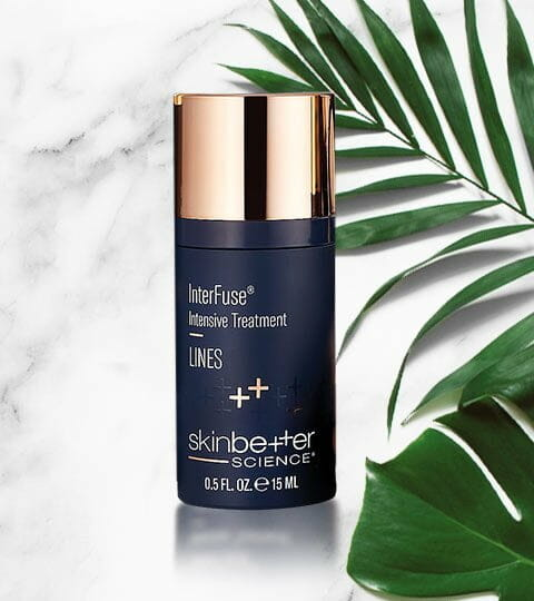 Shop InterFuse Intensive Treatment Skinbetter Science Spa Products at Solana Aesthetics and Wellness in Lemont, Illinois